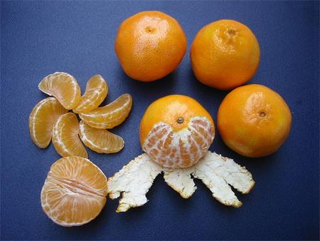 LES FRUITS COMMENÇANT PAR C Clementines