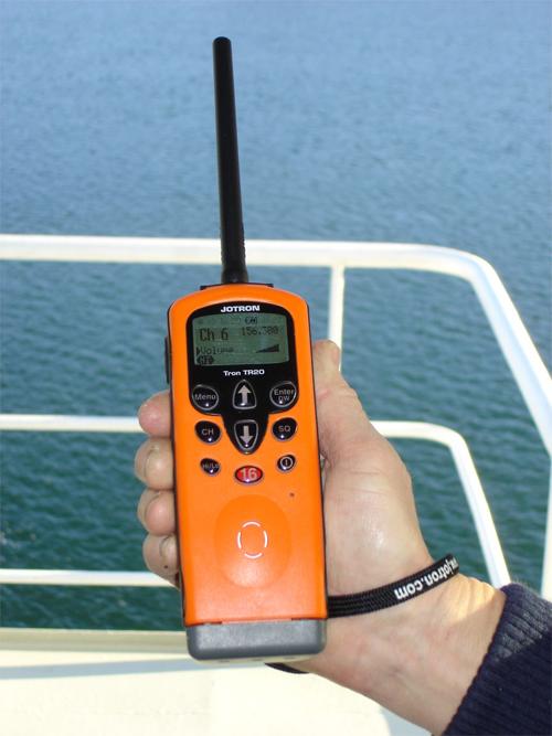 "Pourquoi dit-on ""reçu 5 sur 5"" ? Handheld_Maritime_VHF"