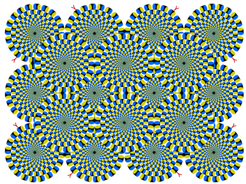 Illusion Rotating snakes