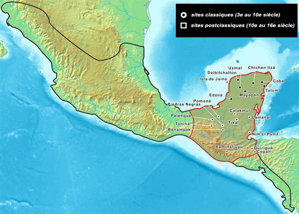 Bien connu Les Mayas, les Incas et les Aztèques - JeSuisCultive.com NA06